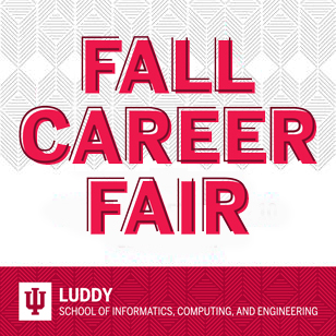 Luddy's fall 2020 career fair took place in the virtual realm.
