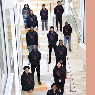 The Underrepresented Students in Tech group has grown quickly since its establishment in Fall 2020.